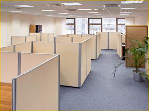 Перегородки мобильные для офисных сотрудников